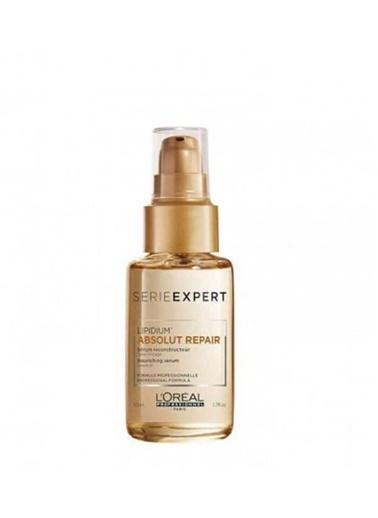 L'oreal Professionnel Yıpranmış Saçlar İçin Onarıcı Absolut Repair Gold Serum 50 ml Renksiz